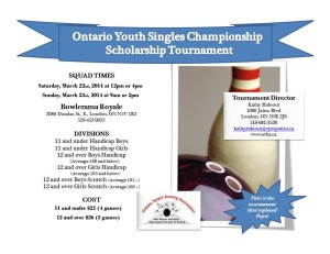 Ontario Singles Poster
